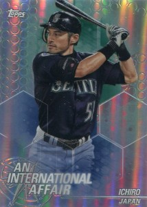 Topps Chrome Update An International Affair