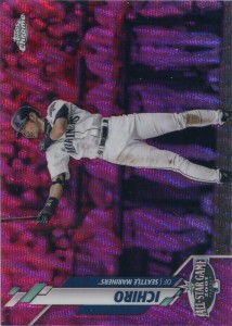 Topps Chrome Update Pink Wave Refractor