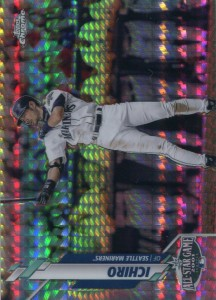 Topps Chrome Update Prism Refractor /99
