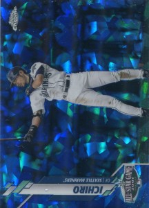 Topps Chrome Update Sapphire Edition