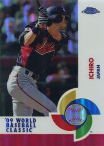 Topps Chrome World Baseball Classic Red Refractor /25