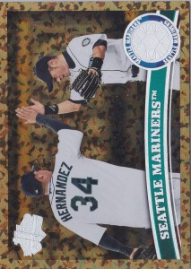Topps Cognac Diamond Anniversary Seattle Mariners