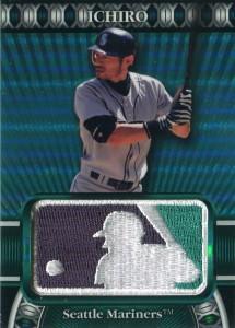 Topps Commemorative Patch MLB Logoman /50