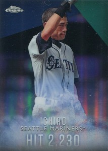 Topps Complete Set Exclusive Topps Chrome Refractor I-4