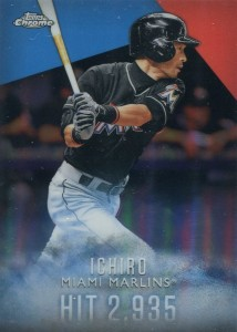Topps Complete Set Exclusive Topps Chrome Refractor I-5