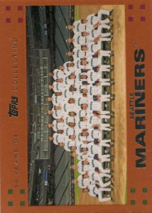 Topps Copper Seattle Mariners Team Card /56