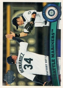 Topps Diamond Anniversary Factory Set Limited Edition Seattle Mariners Checklist