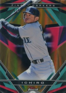 Topps Finest Finest Careers Gold Refractor Ichiro #2 /50