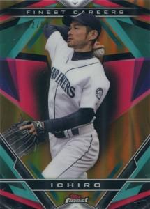Topps Finest Finest Careers Gold Refractor Ichiro #3 /50