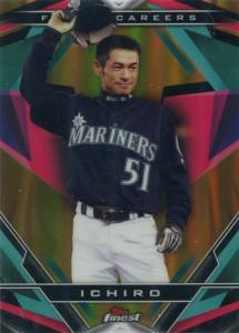 Topps Finest Finest Careers Gold Refractor Ichiro #5 /50
