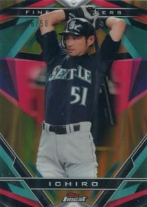 Topps Finest Finest Careers Gold Refractor Ichiro #6 /50