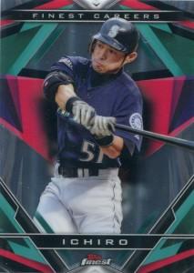 Topps Finest Finest Careers Ichiro #10