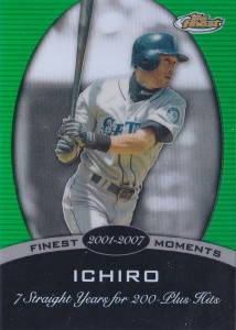 Topps Finest Finest Moments #15S Green Refractor /199