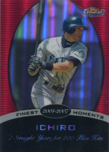 Topps Finest Finest Moments 15S Red Refractor /25