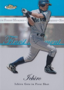Topps Finest Moments Blue Refractor /299