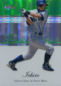 Topps Finest Moments Green Refractor /199