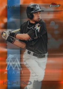 Topps Finest Orange Refractor /25