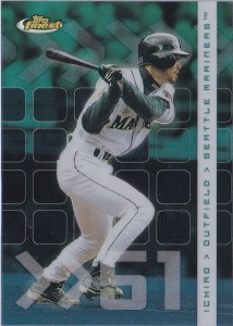Topps Finest Refractor Front /499