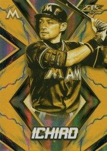 Topps Fire Gold Minted