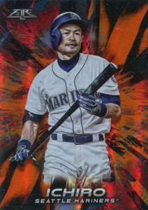 Topps Fire Orange /299