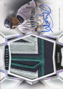 Topps Five Star Jumbo Patch Autograph /5