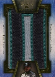 Topps Five Star Letter Patch 1/1
