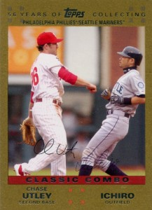 Topps Gold Classic Combo /2007