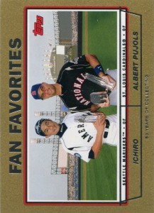 Topps Gold Fan Favorites /2004