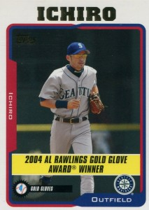 Topps Gold Glove