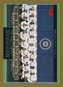 Topps Gold Mariners Team Card /2006