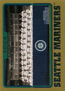 Topps Gold Mariners Team Card /2005
