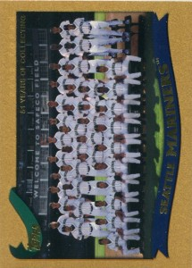 Topps Gold Mariners Team Card /2002