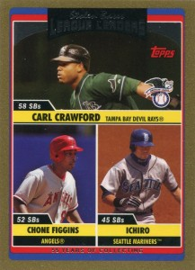 Topps Gold Stolen Base League Leaders /2006