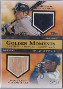 Topps Golden Moments Dual Relic /50