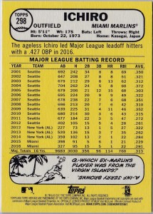 Topps Heritage Bright Yellow Back /25