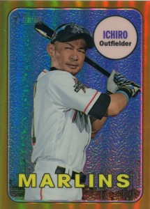 Topps Heritage Chrome Gold Refractor /5