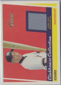 Topps Heritage Clubhouse Collection Relics