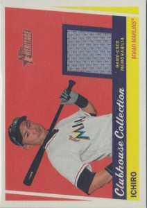 Topps Heritage Clubhouse Collection Relics High Numbers