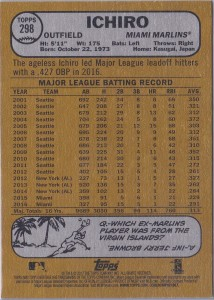 Topps Heritage Gray Back /10