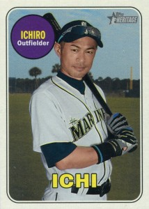Topps Heritage High Number Nickname