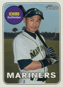 Topps Heritage High Numbers Color Swap