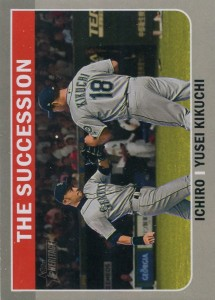 Topps Heritage High Numbers Combo Cards The Succession