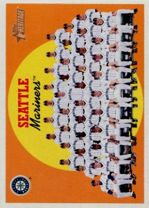 Topps Heritage Mariners Team Card