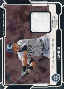Topps Highlights Relic