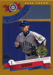 Topps Home Team Advantage A.W. Gold Glove