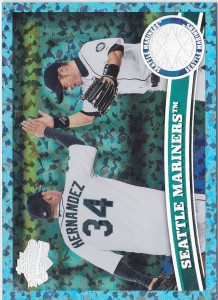 Topps Hope Diamond Seattle Mariners Team Checklist /60