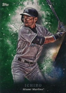 Topps Inception Green