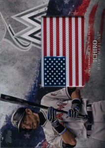 Topps Independence Day Flag Patch