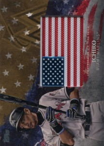 Topps Independence Day Flag Patch /99