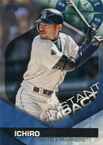 Topps Instant Impact Blue